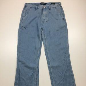 Scotch /& Soda La Bohemienne Cropped-Wash It Away Jeans Straight Donna
